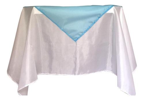 toalha mesa + cobre mancha bember c/ bainha  com 10 jogos