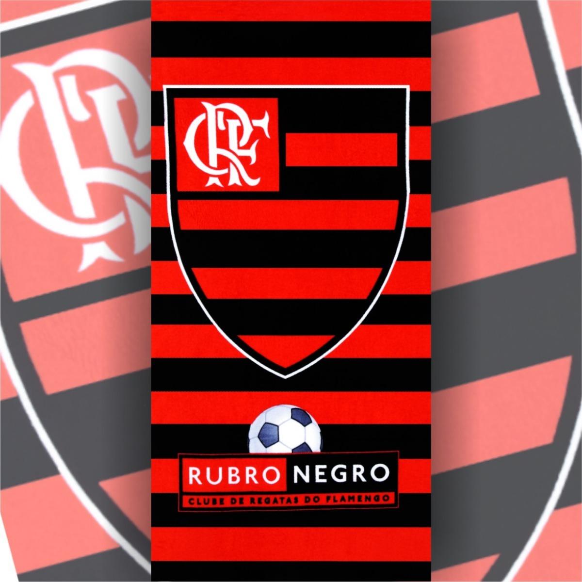 a3bae536aba6 Toalha Praia 100% Algodão Flamengo - Gifran - R$ 49,99 em Mercado Livre