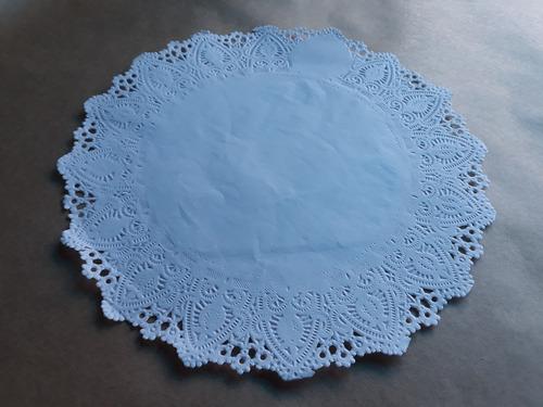 toalha rendada papel mago doilies 25 cm (250) c/100 unids