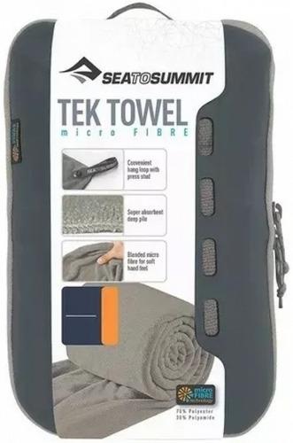 toalha tam m sea to summit compacta para viagem e trekking