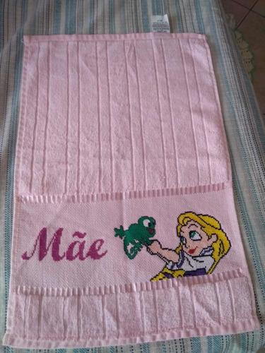toalhas bordadas