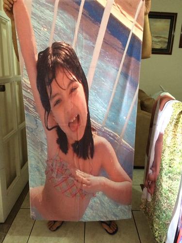 toalhas de banho personalizadas / estampadas