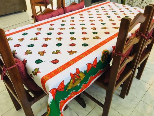 toalhas de mesa natalinas  6 cadeiras