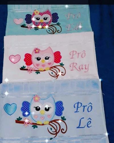 toalinhas bordadas personalizadas