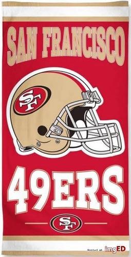 toalla 49ers san francisco nfl original