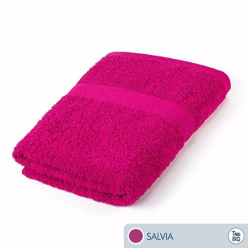 toalla ama de casa tres80 baño 120x68 cms salvia