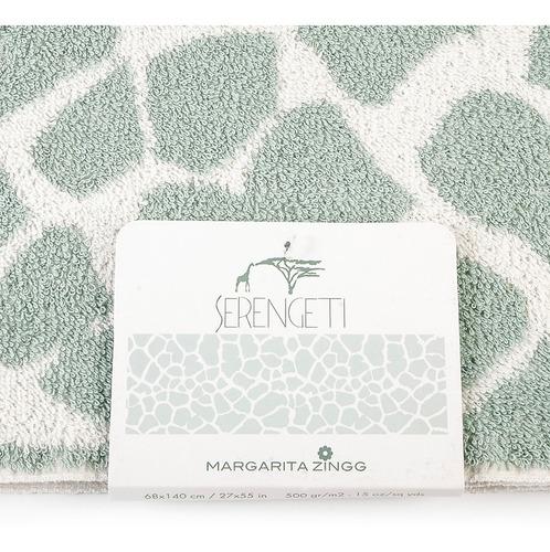 toalla animal print jirafa colección serengeti  140 x 68 cm