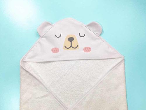toalla bebé capucha personalizada