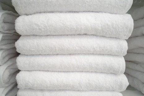 toalla blanca 120x60 oferta!!! para hoteles posadas clinicas