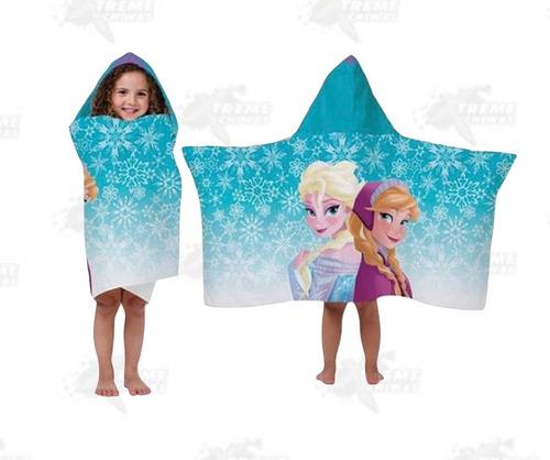toalla capucha disney frozen elsa y ana xtreme c