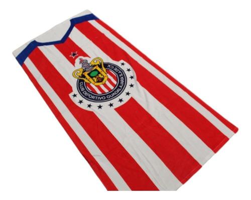 toalla chivas de guadalajara original excelente calidad