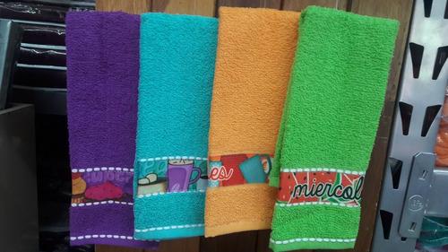 toalla cocina económica (set de 5 piezas)