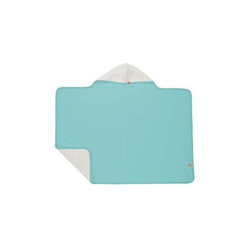 toalla con capucha de bebé lassig, blanco, 0-24 meses