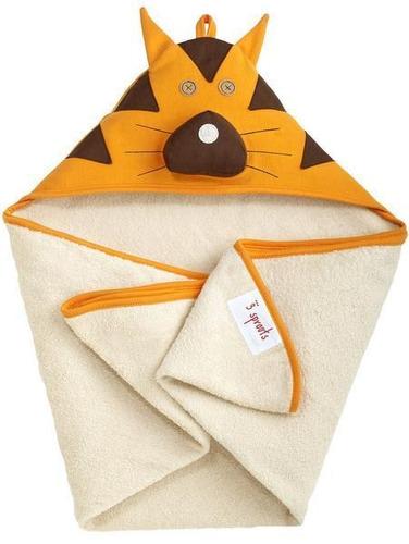 toalla con capucha tigre 3 sprouts