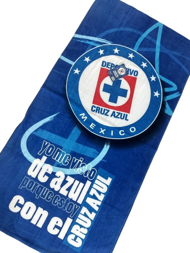 toalla cruz azul original producto oficial