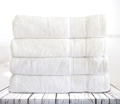 toalla cuerpo x6 unidades  60x120 cm 500 gr 100% algodon