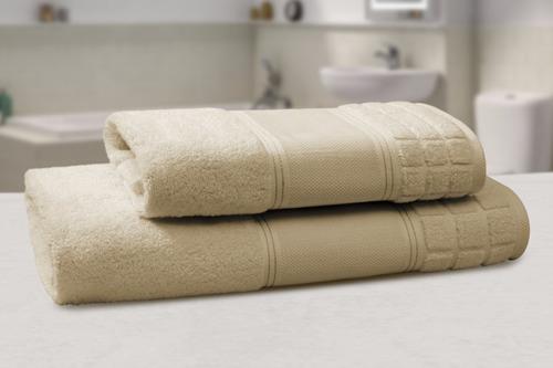 toalla dalfiori lina color camello (manos)