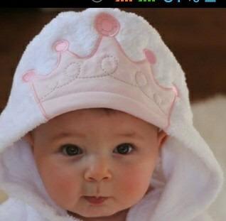 toalla de baño con capa para bebe