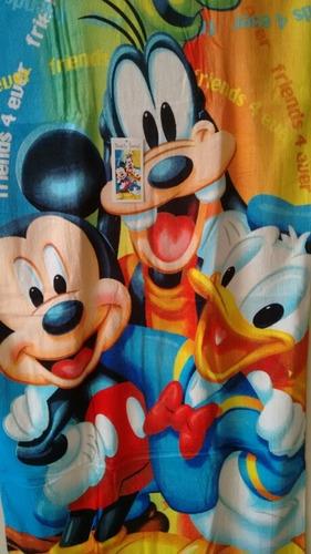 toalla de baño para niños mickey mouse disney