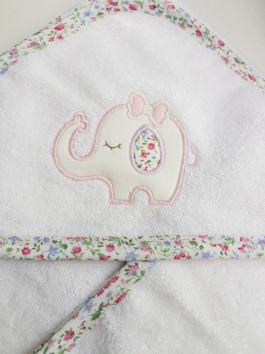 toalla de bebe con capucha