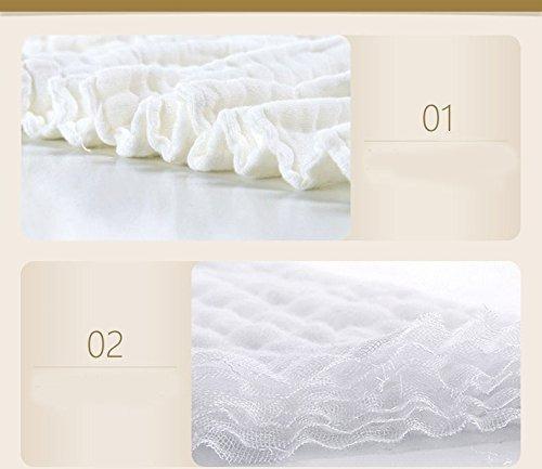 toalla de bebé lucear para baño manta de algodón de muselina