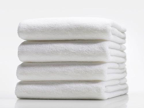 toalla de cuerpo 140*70 cm   500 gr 100% algodon blanca