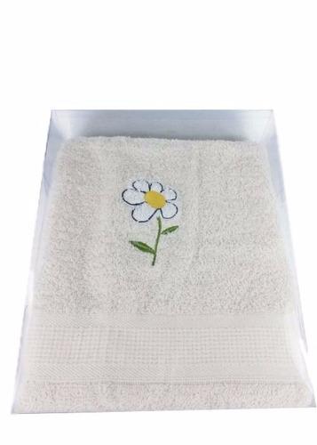 toalla de mano diseño margarita para regalar y más
