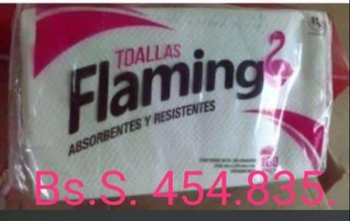 toalla de mano intercalada flamingo 1x12pq 20 verde