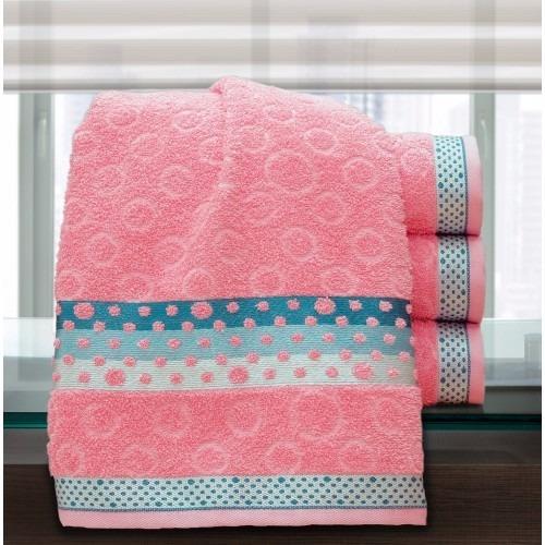 toalla de mano spazio 45x75cm - 420gr sandía / mallbits