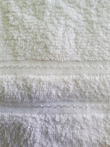 toalla de manos 40x60 cm blanca , 100% algodón (100 gr)