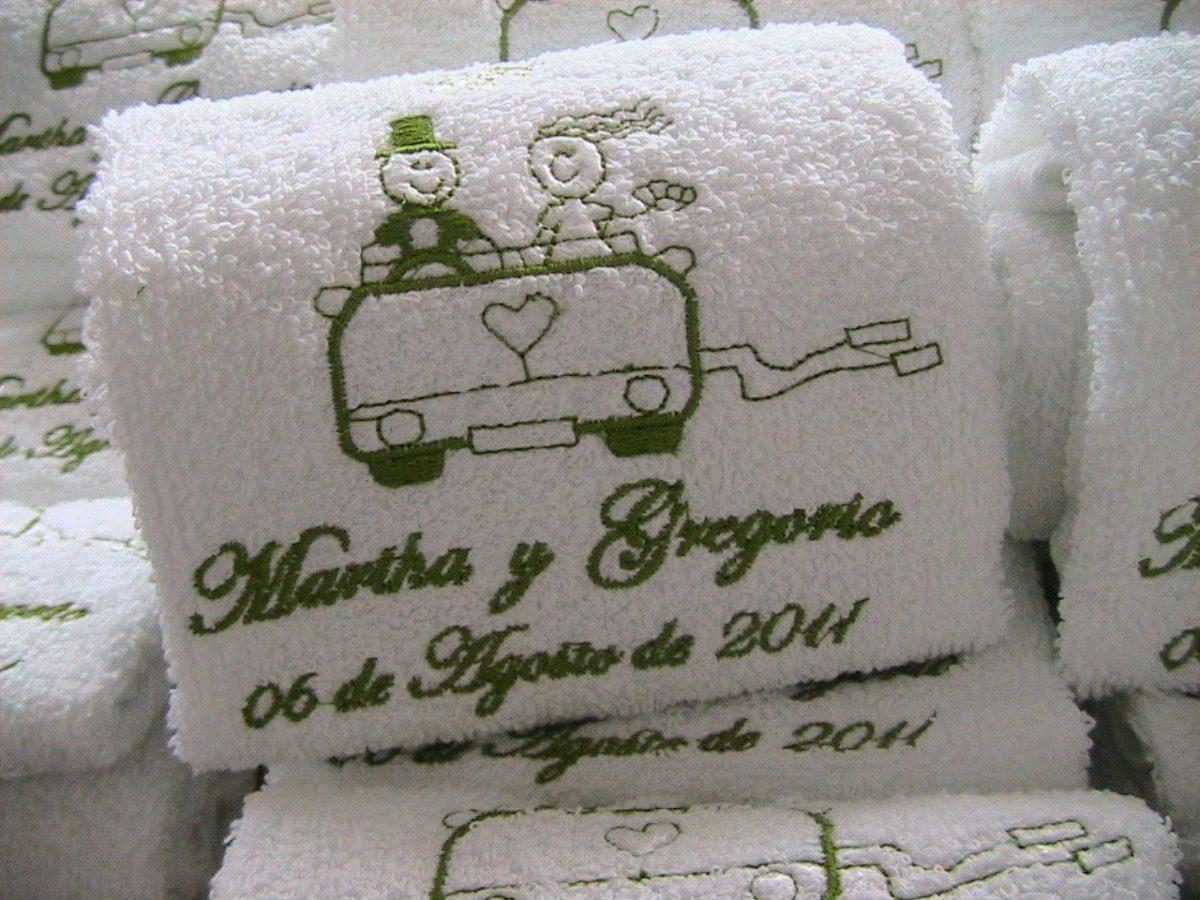 toalla de manos para bodas
