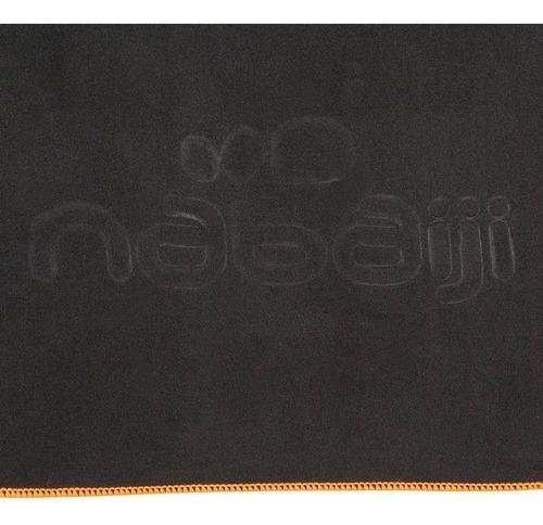 toalla de microfibra ultra compacta navaiji 80 x 130 gris os