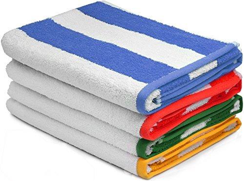 toalla de playa grande, toallas de piscina, en rayadas caba