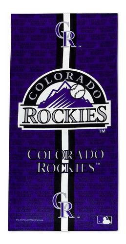 toalla de playa reactiva de fibra de los colorado rocki...