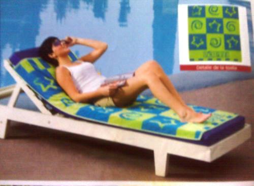 toalla de playa unique verde y azul 1.60 x 0.82 mts nuevo