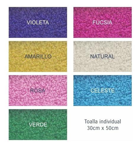 toalla de visita 30x50 cm 100% algodón 550 gr