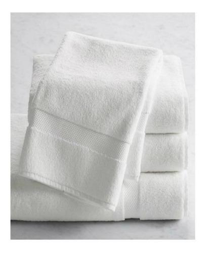 toalla décor blanco cuerpo 400 gr unicolor