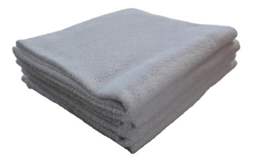 toalla económica hotelera blanca 0.70x1.35 350gr la heredera
