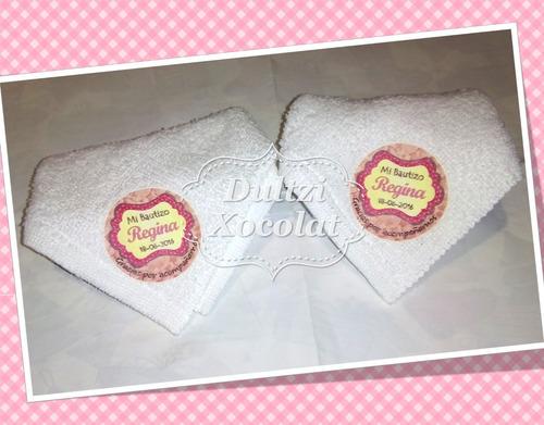 toalla facial personalizada estampada recuerdo boda xv años