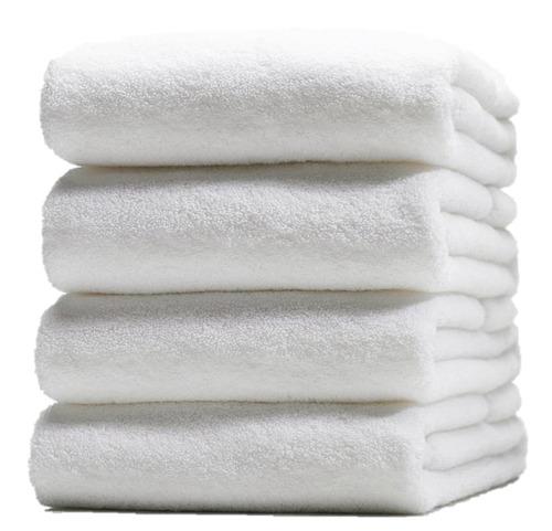 toalla hotelera para alberca lisa torzal de 90x170cm, 870gr