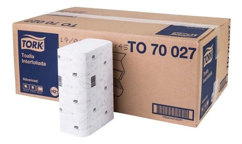 toalla interfoliada tork  xpress® advanced 16 pqts 200 hojas