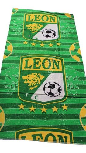toalla león  liga mx gran calidad