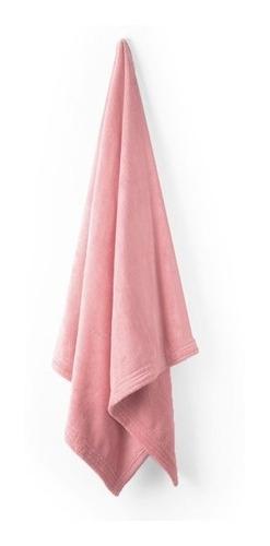 toalla microfibra 1/2 baño lisa esquimal ballet