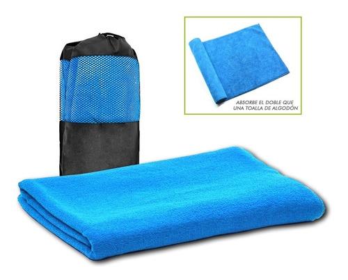 toalla microfibra deporte viaje natación secado fácil 120x80