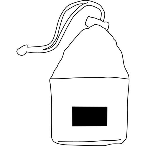 toalla microfibra secado rapido c bolsa 30x30- poneletulogo!