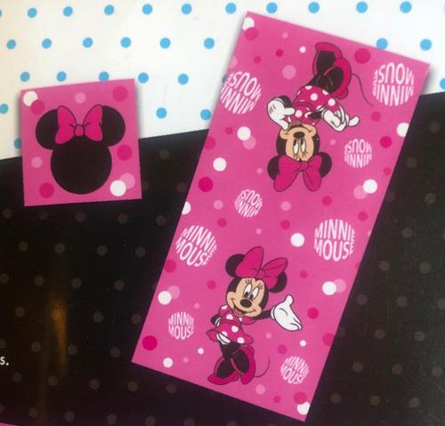 toalla minnie mouse  set 2 piezas