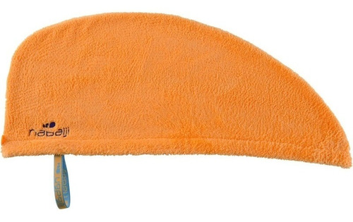 toalla para el cabello naranja de microfibra suave nabaiji