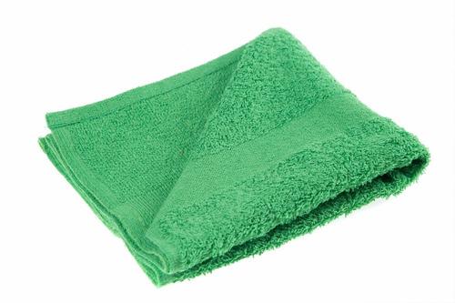toalla para manos verde