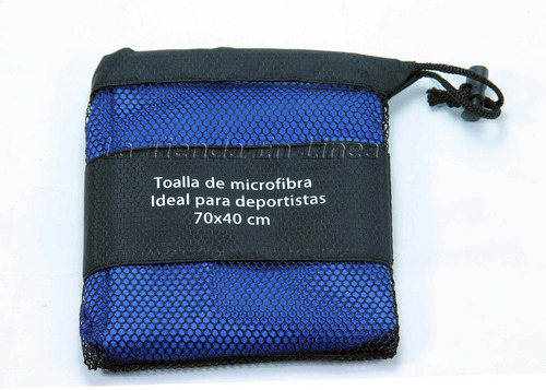 toalla para natacion microfibra deportistas 70 x 40cm