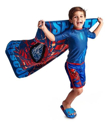 toalla para niños spiderman hombre araña disney store